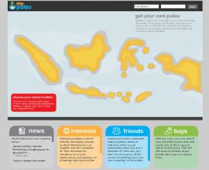MyPulau Homepage