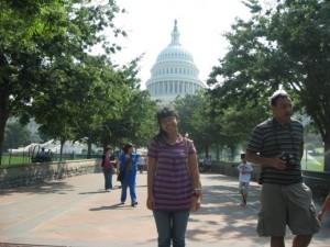 Selalu banyak turis di US Capitol
