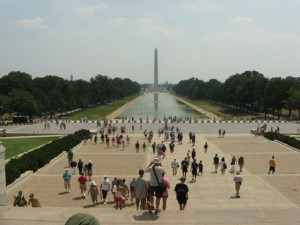 Reflecting Pool in front of the Lincoln Memorial