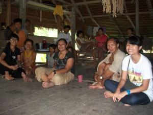 Bersama keluarga Tutulu di Siberut