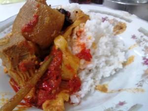 Sambal Lado Merah teman nasi Kapau