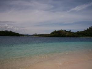 Bagus ya pantai Pulau Pagang