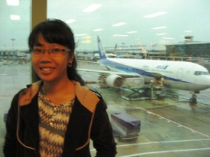 At Changi, last year~