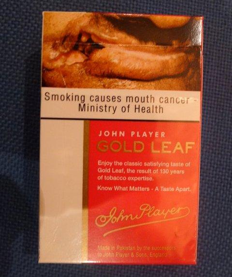 Bungkus Rokok di Pakistan