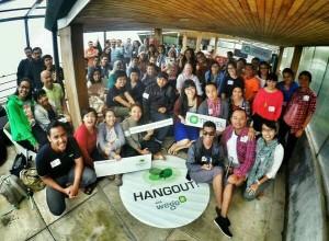 Wego Hangout at Maja House, Bandung