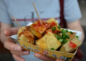 Stinky Tofu of Taipei!
