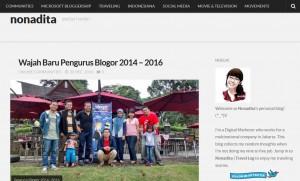 Nonadita Blog
