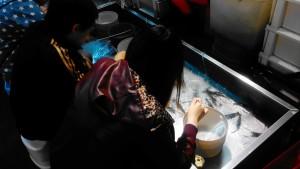 Mini Shrimping at Shilin Night Market