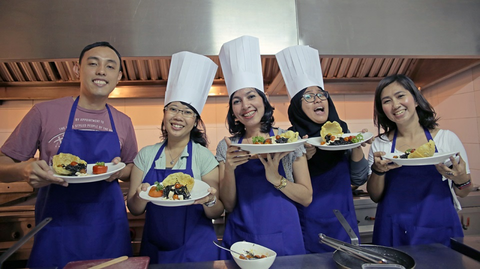 Cooking Class at L'Osteria Jakarta